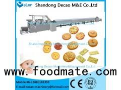 baby / soft / hard cookie biscuit machine processing line