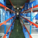 Pharmaceuticals Industry Multilayer Heavy Duty Warehouse Storage Shelving Made In Qingdao