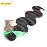 Unprocessed Baisi Hair Products Brazilian Virgin Hair Body Wave 100% Cheap Brazilian Human Hair Weav