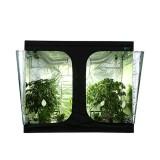 Green Fllm 100% Top Friendly PEVA Marijuana Led Growth Lights Indoor Hydroponics Grow Tent Ventilati