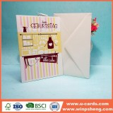 Cool Innovative Ideas Embossed Handmade Birthday Card For Friends