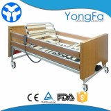 Electric Motorized Nursing Hospital Bed For Home Care