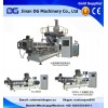 New designed twin screw extruder for making corn flakes and snack pellets