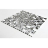 China Supplier Low Price Square Aluminum Glass Mosaic Tiles With Widely Application