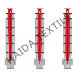 High Temperature Heat Setting Stenter For Knit Fabric With Standard Or Elevated Type