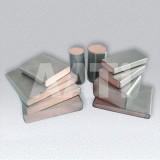 Ti ClTi Clad Copper Bars With Material Gr1 Or Gr2 And Copper T2 Or TU2ad Copper Bars With Material G