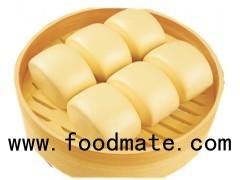 Traditional Chinese Frozen Dim Sum Steamed Bun Milk Egg Flavor