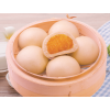 Traditional Chinese Frozen Dim Sum Steamed Sweet Bun Custard Bun