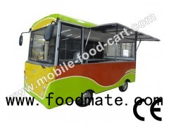 Bus Type Electric Food Cart_Food Cart Business for Sale