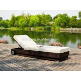 Swimming Pool Lounge Bed,adjustable Backrest And Wheels