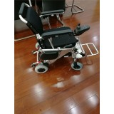 Rehabilitation Orthopaedics Handicapped Wheelchair With Elevating Footrest
