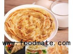 Xiaolian Factory Traditional Chinese Frozen Snack Food Dim Sum Paratha Hand Grasp Pancake Dim Sum