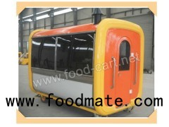 Push Cart for Sale/Hand Push Type Mobile Food Cart