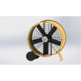 40 Inch Small Diameter Permanent Magnet DC Brushless High Strength Steel Plate Fan