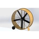 60 Inch Large Diameter Axial Negative Pressure High Strength Steel Plate Fan
