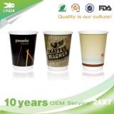 Black Benders Personalised Biodegradable Takeaway Coffee Paper Cups