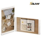6 Inch White Personalized Acrylic Creative Picture Frame For Home Decoration Two Piece Sets Leggy Ho