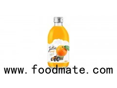 Glass 320ml Fruit Orange Juice Private Label Brand (https://rita.com.vn)
