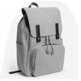 Modern Style Canvas Laptop Backpack