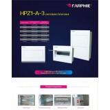 Metal Enclosure Push-Open Door Distribution Box
