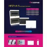 ODM 8-45 Way Pure Metal White Distribution Box