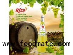 1000ml Glass Bottle Grape Flavor Basil Seed Juice Drink (https://rita.com.vn)