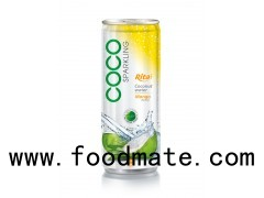 250ml Alu Can Mango Flavor With Sparking Coconut Water (https://rita.com.vn)