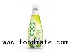 300ml Pet Bottle Lemon Flavor With Sparking Coconut Water (https://rita.com.vn)