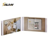 7 Inch White Waterproof 3D Desktop Acrylic Photo Frame For Home Decoration Two Piece Sets