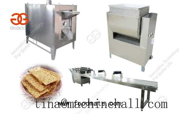 sesame brittle production line