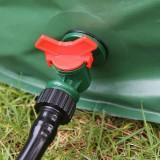 Portable Rain Barrel Collapsible Outdoor Garden Water Collector Spout