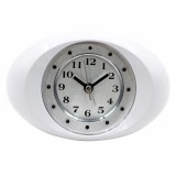 White And Cute Hidden Camera Alarm Clock Wifi Spy Camera Alarm Clock Wireless Spy Alarm Clock Wifi A