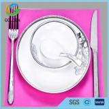 Eco-fridendly Nonwoven Dining Table Cloth/Restaurant Pp Spunbond Waterproof Non Woven Tablecloth