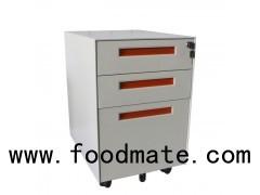 High Quality Office Furniture 3 Drawer Mobile Pedestal Steel Filing Cabinet