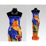 Large 100% Silk Beach Head Square Printing Paisley Wrap Skirt Scarf