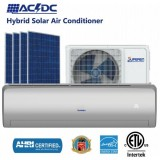9000BTU ACDC Hybrid Air Conditioning System And Solar Hvac Solar Power Cooler
