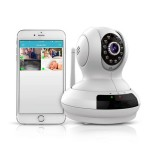 WiFi IP Camera Wireless Security 720P 1.0 MP P2P Remote Cloud With Pan Tilt Night Vision Two Way Aud