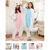 Unicorn Pajamas Animal Cosplay Costume Unisex Adult Onesie Sleepwear