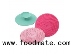 Portable Washing Tools Comestic Silicone Brush Cleaning Mat