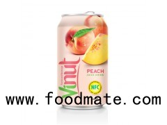 330 Canned Fruit Juice Peach Juice Drink Wholesale Supplier