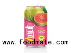 330ml Canned Fruit Juice Guave Juice Drink Supplier
