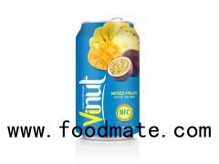 330ml Canned Fruit Juice Mix Juice Drink Wholesale Supplier