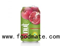 330ml Canned Fruit Juice Pomegranate Juice Drink Manufacturer