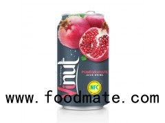 330ml Canned Fruit Juice Pomegranate Juice Drink Supplier