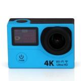 Original Remote Sport Action Camera HD H3 Ultra 4K Wifi Dual Screen Video Action Camera Sports 170 D