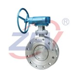 Mine Flanged Triple Offset Butterfly Valve