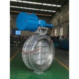 Renewable Seat Flanged Triple Offset Butterfly Valve