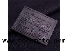 Custom Jeans Genuine Leather Patch