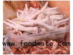 Clean Fresh Frozen Chicken Feet and Chicken Paws