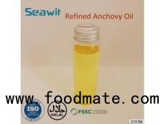 High quality natural TG form refined anchovy oil for dietary supplement
